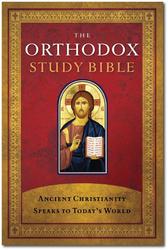 Orthodox Study Bible cover w/drop shadow