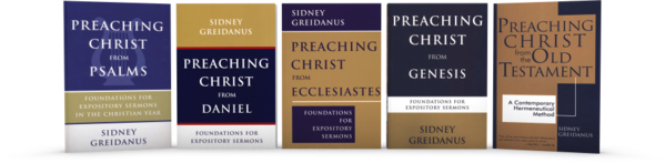 Preaching Christ from the OT - all 5