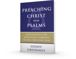 Preaching Christ from the Psalms